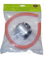 Gassregulator set Longstime m/slange L.0,6m, EN16129, DG3812