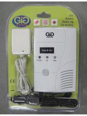 GiG Safety Gass og Co alarm for 12V og 230V